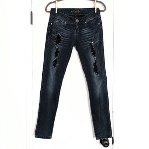 G by Guess Super Skinny Distressed 26